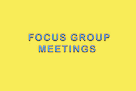 Focus Groups Title Page